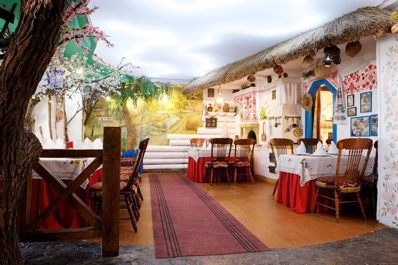 Ресторан национальной кухни Хатинка